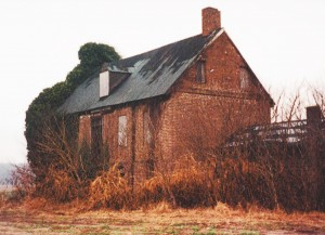 "The ""Old Brick House"" now known as Handsell in 2003"