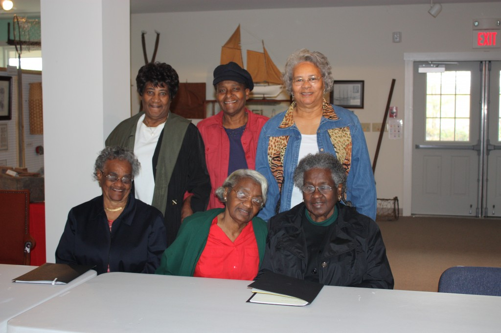 The NHPA African American Steering Committee at a meeting to plan for the Oral History of the Indiantown.  Shirley Jackson, Chair.